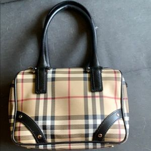 Small Burberry Plaid Purse